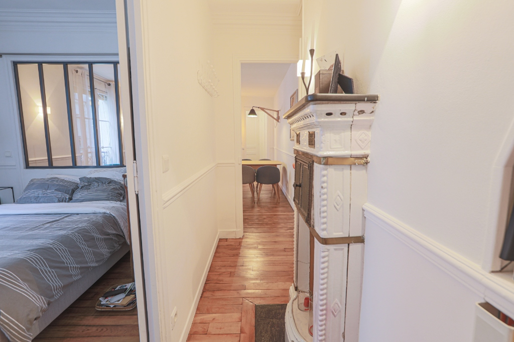 Beautiful 3 rooms Rue Custine 7