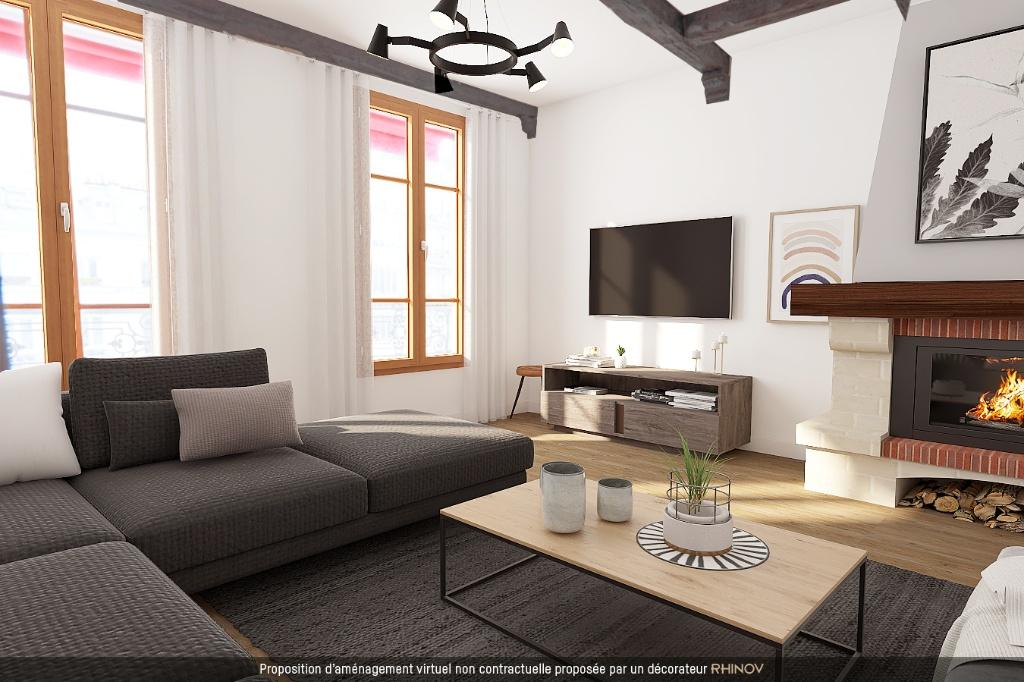 ABBESSES- 4 Pièces de 85M² , DERNIER ETAGE ,3 Chambres exposé Sud !!! 1