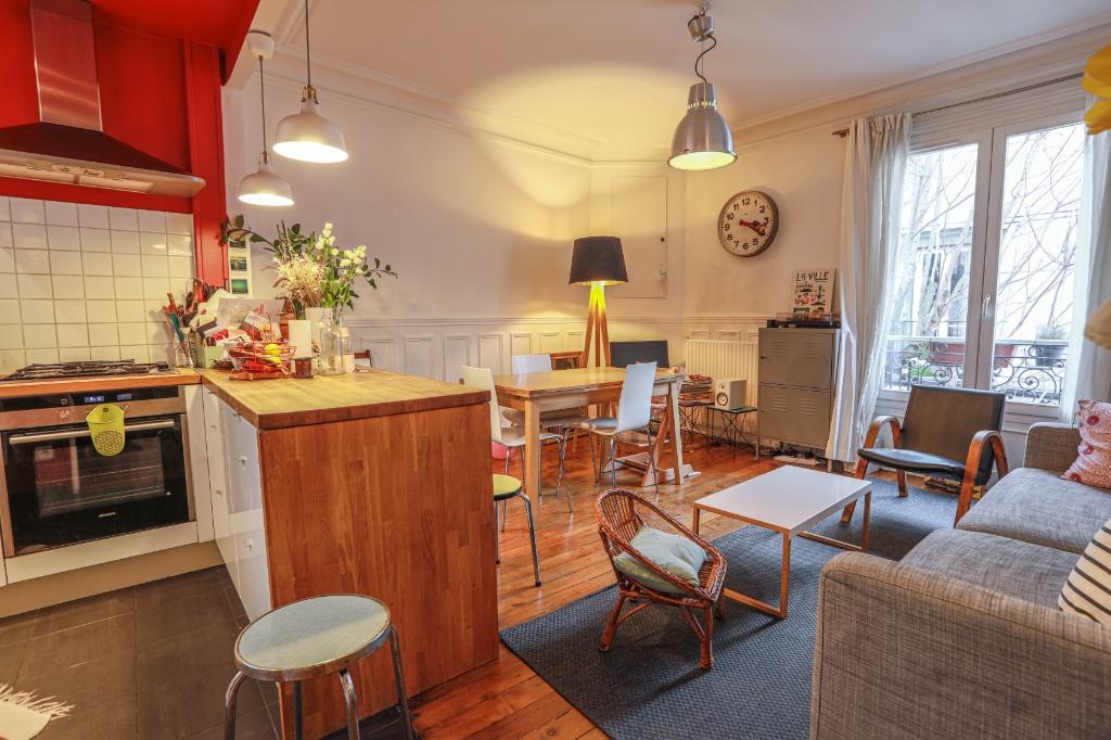 La FOURCHE  proche batignolles – bel appartement 3 pièces 2 chambres – 58,06m² 1
