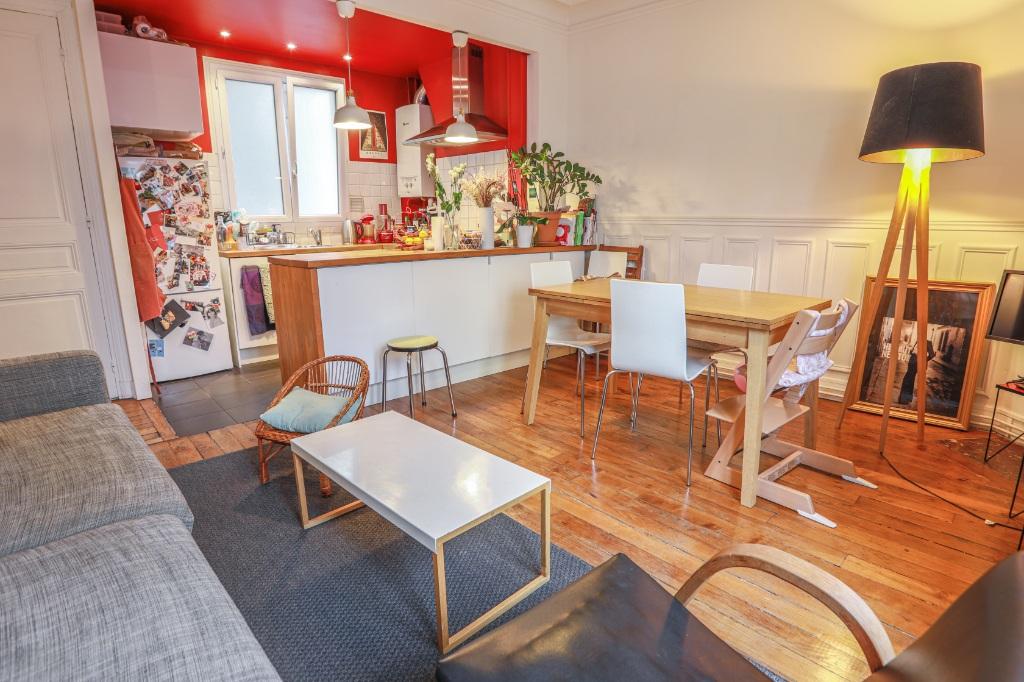 La FOURCHE near batignolles – beautiful 3 room 2 bedroom apartment – 58.06m² 2
