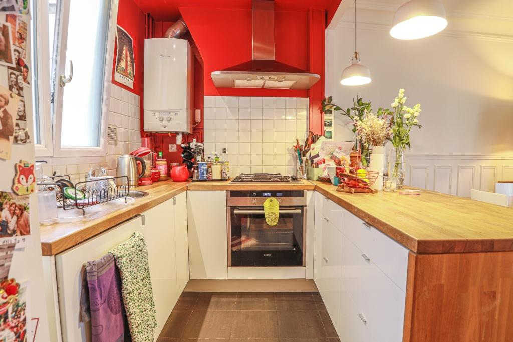 La FOURCHE  proche batignolles – bel appartement 3 pièces 2 chambres – 58,06m² 3