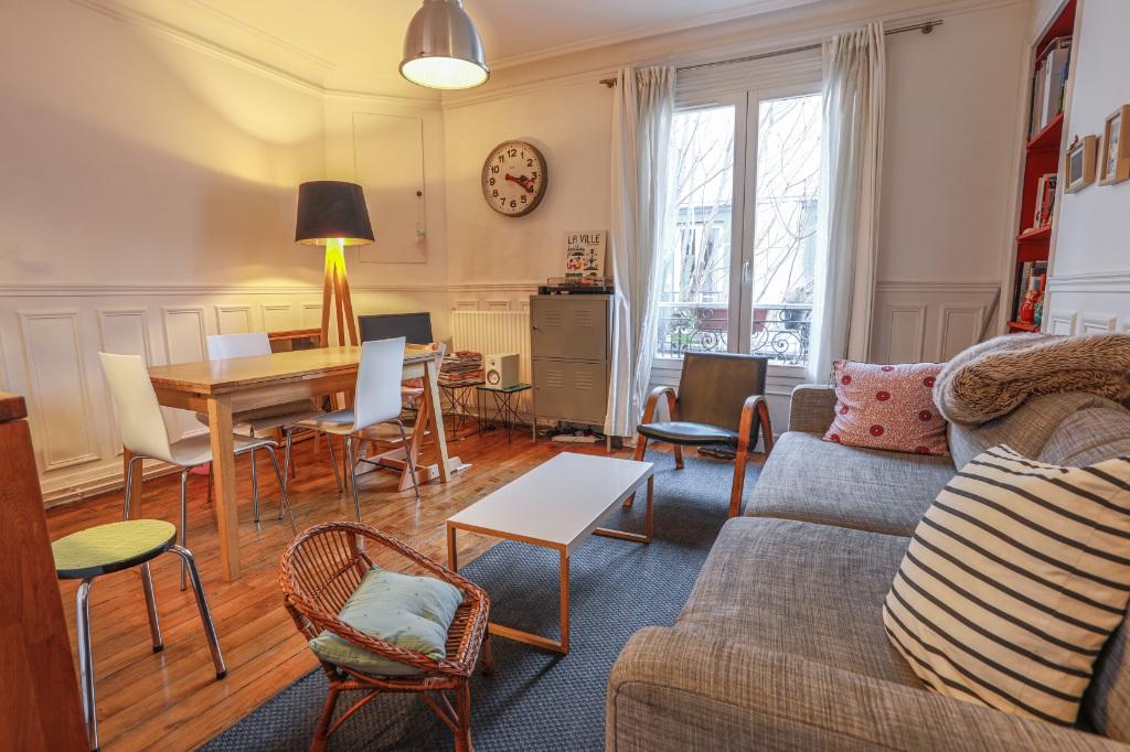 La FOURCHE  proche batignolles – bel appartement 3 pièces 2 chambres – 58,06m² 4
