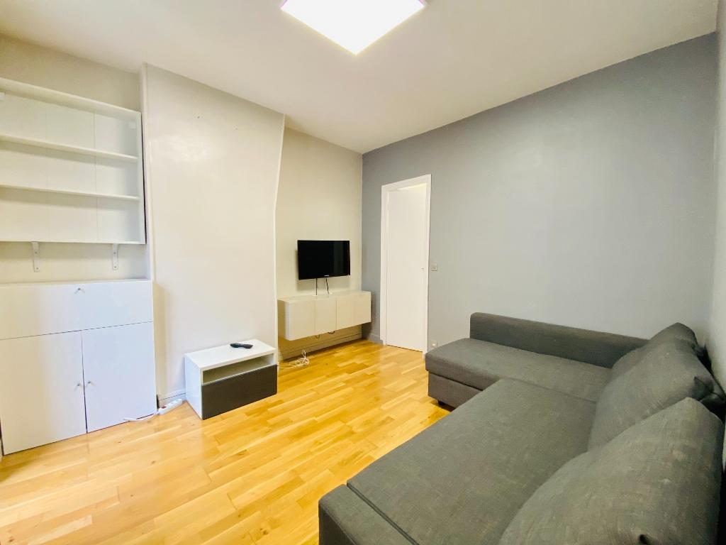 Appartement meublé Paris 2 pièce(s) 30 m2 1