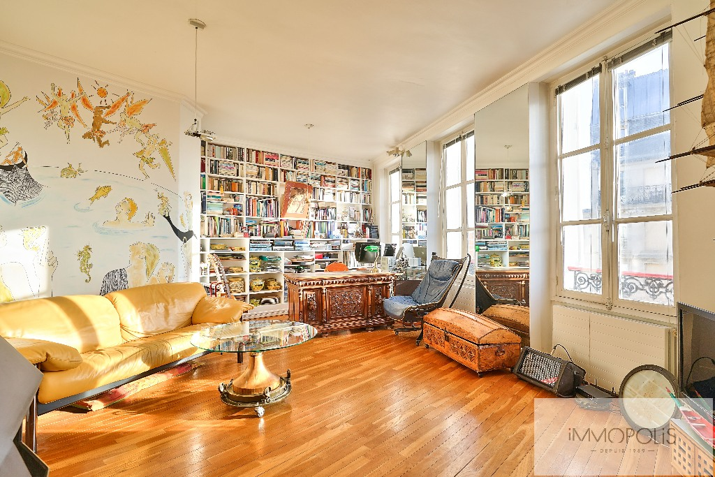 Apartment with unobstructed views, Abbesses Paris XVIII. 4