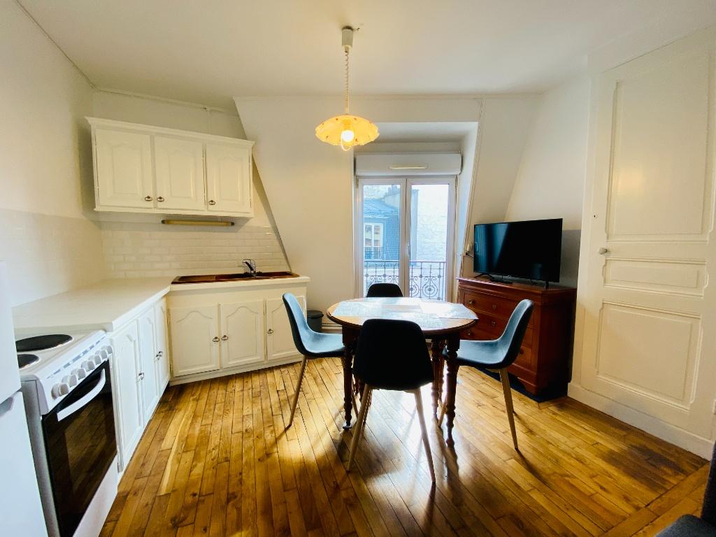 Appartement Paris 2 pièces meublé 32 m2 3