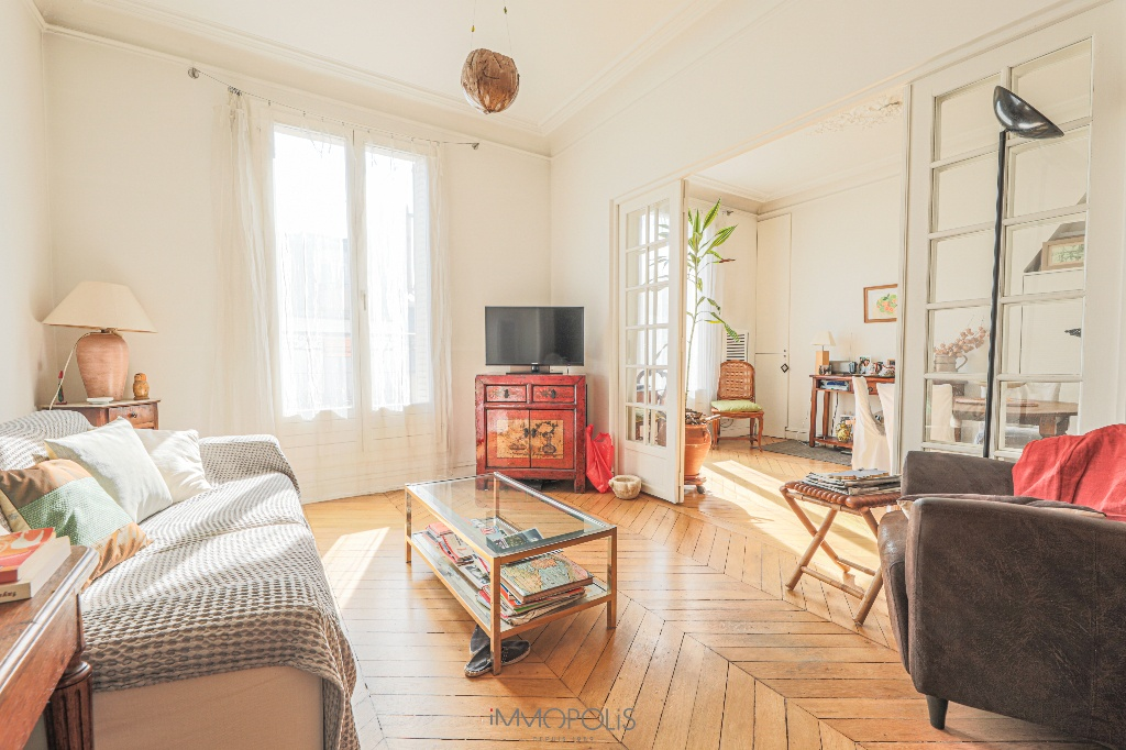 Appartement Paris 2/3 pièce(s) 54 m2 avec Balcon 1