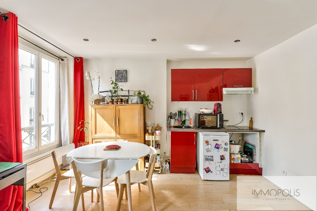 Village Ramey – Muller Street Very nice two rooms of 34m² 15