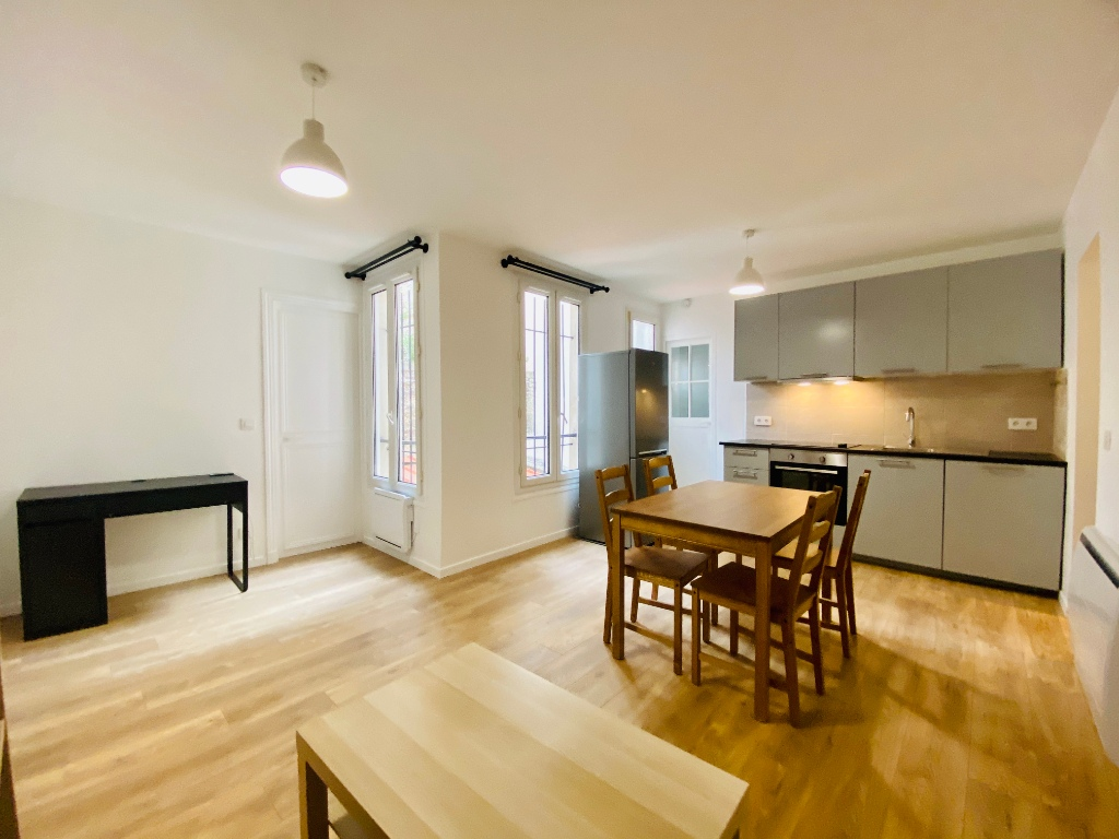 2 rooms furnished Montmartre 2