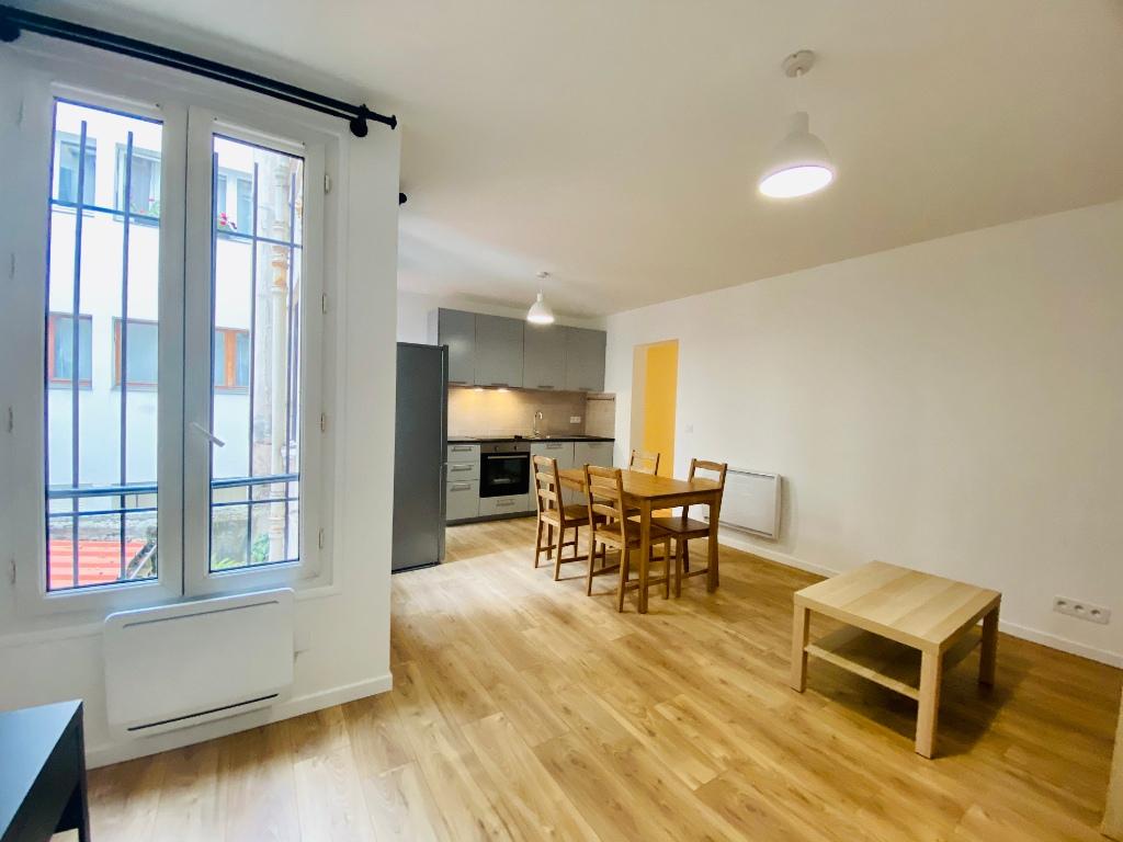 2 rooms furnished Montmartre 3