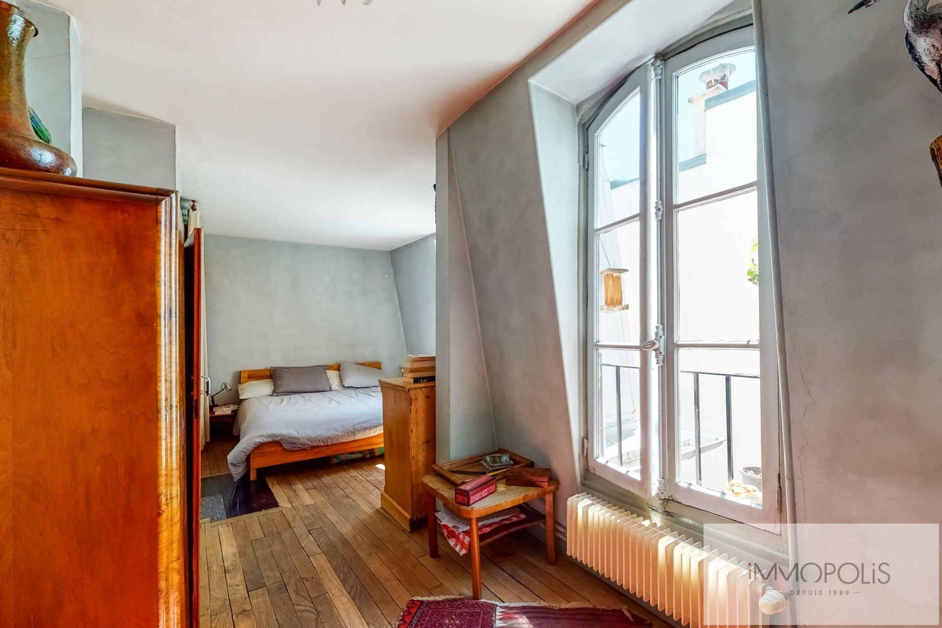 Appartement atypique à rénover, plein de charme, Rue Richard Lenoir – Paris XIème. 4