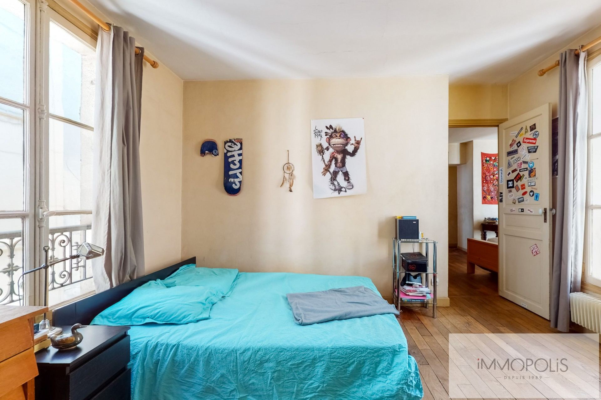 Atypical apartment to renovate, full of charm, rue Richard Lenoir – Paris XIth. 6