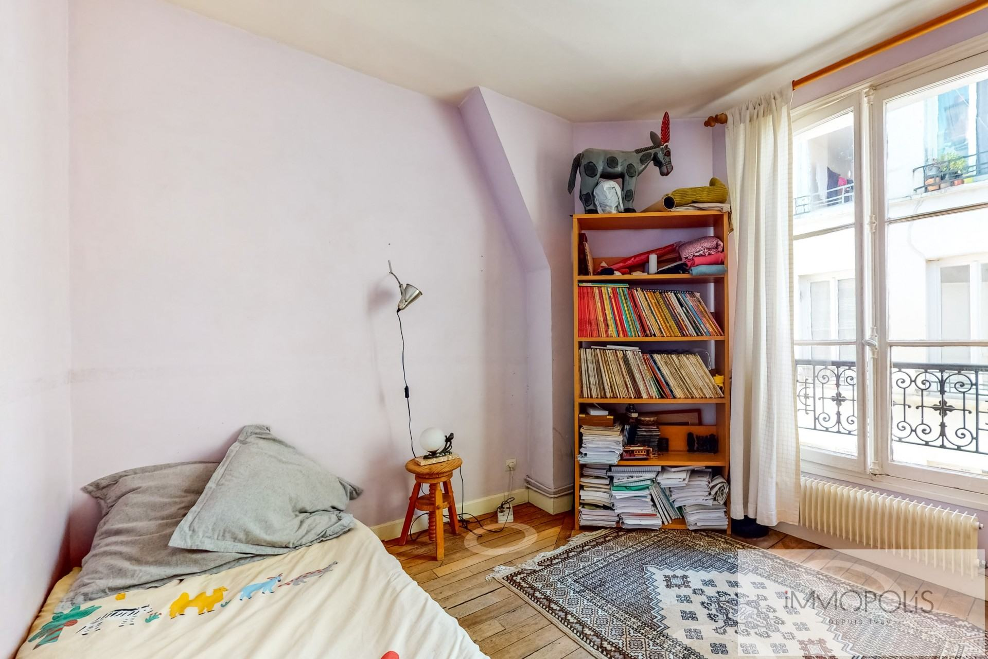 Atypical apartment to renovate, full of charm, rue Richard Lenoir – Paris XIth. 7