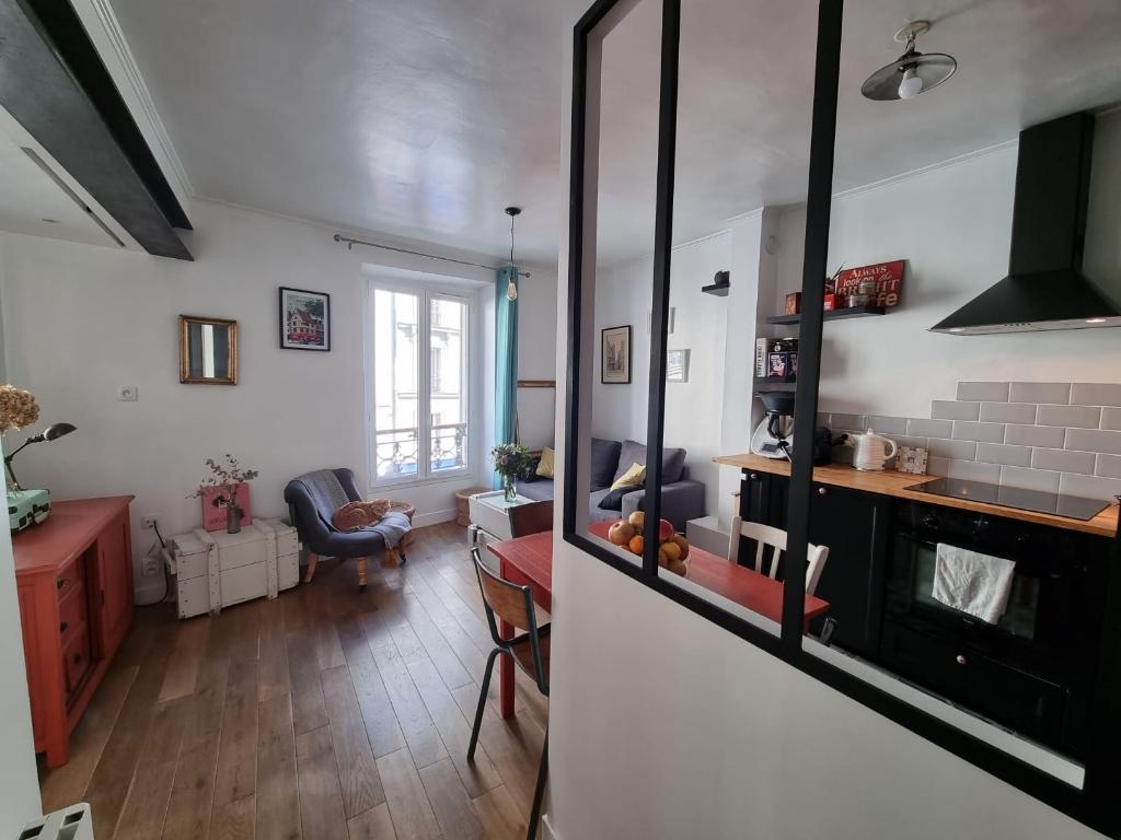 Appartement Paris 2 / 3 Pièces de 38 m2,» Coup de Coeur» assuré!!! 4