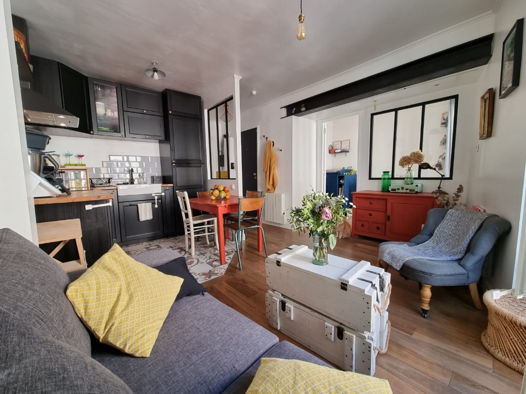 Appartement Paris 2 / 3 Pièces de 38 m2,» Coup de Coeur» assuré!!! 5