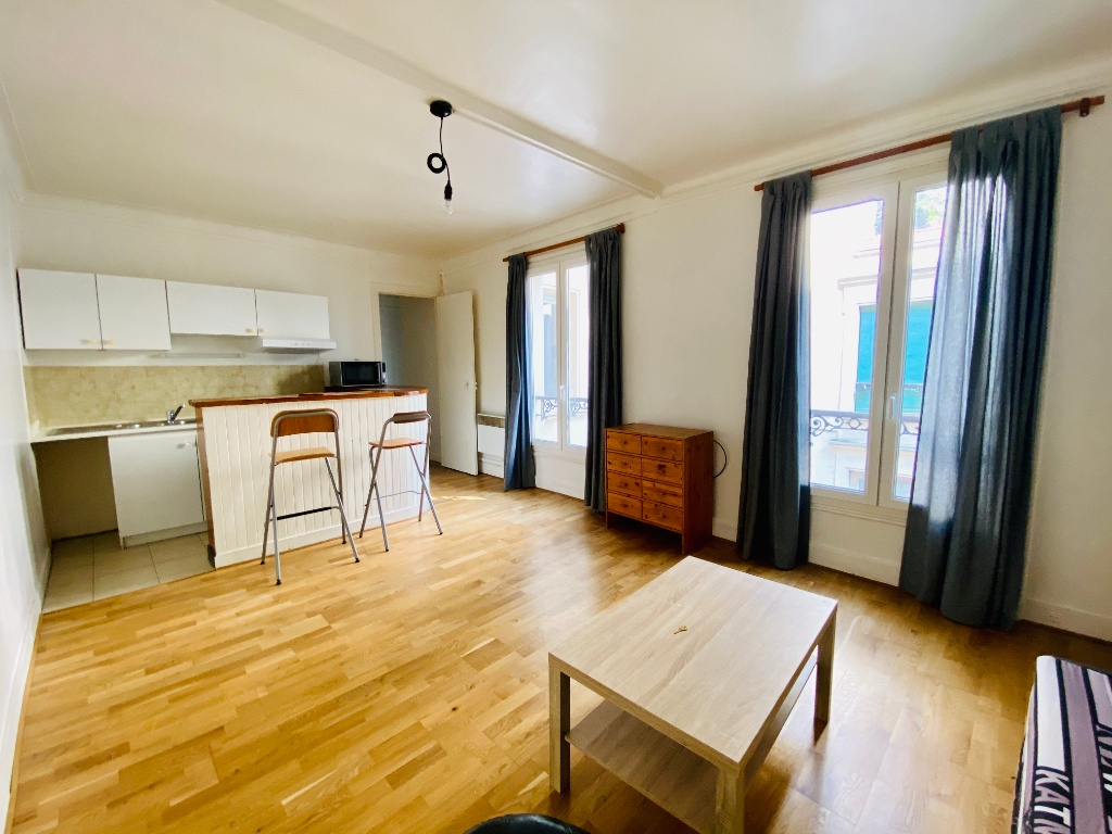 Furnished Studio – Paris 18th – 30 m² 1
