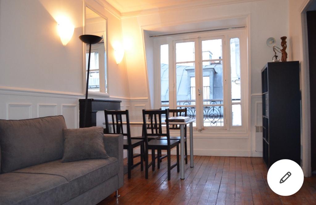 Appartement Paris 2 pièce(s) 30 m2 1