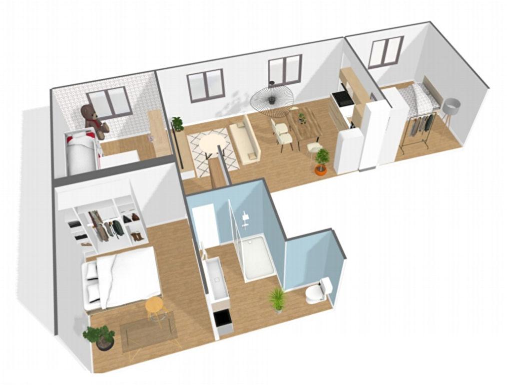 Sector Brochant – 4 rooms 3 bedrooms – 66.5 m² 8