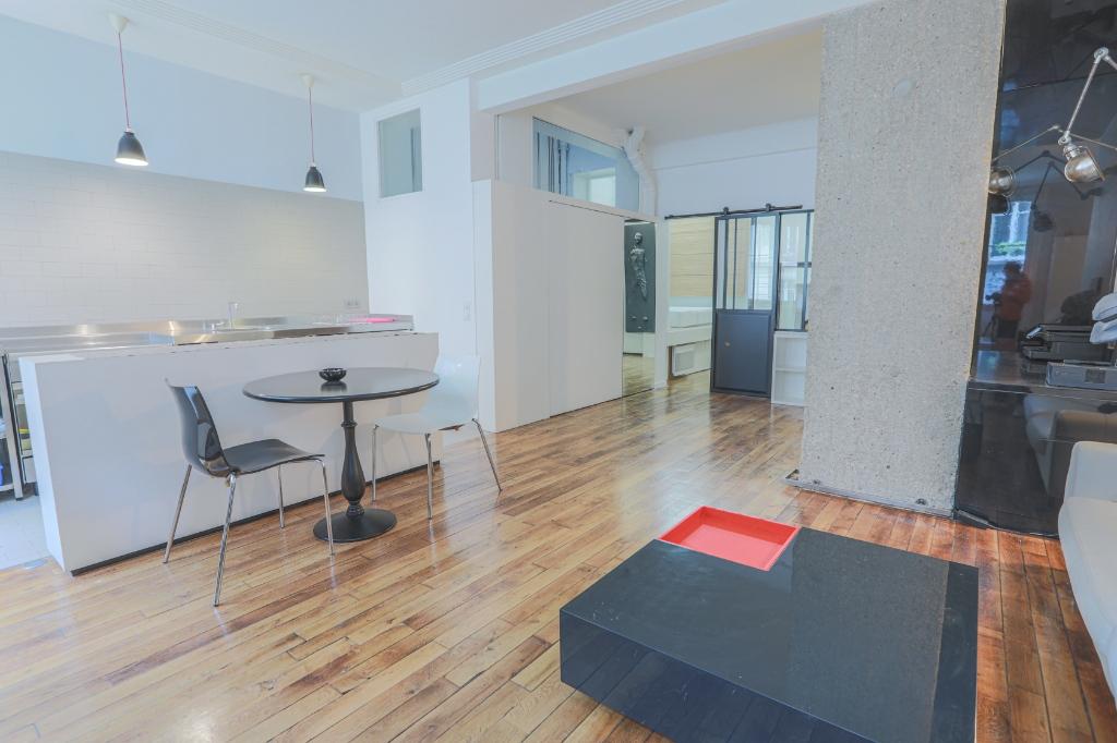 Appartement «esprit loft» quartier Lamarck Caulaincourt 3