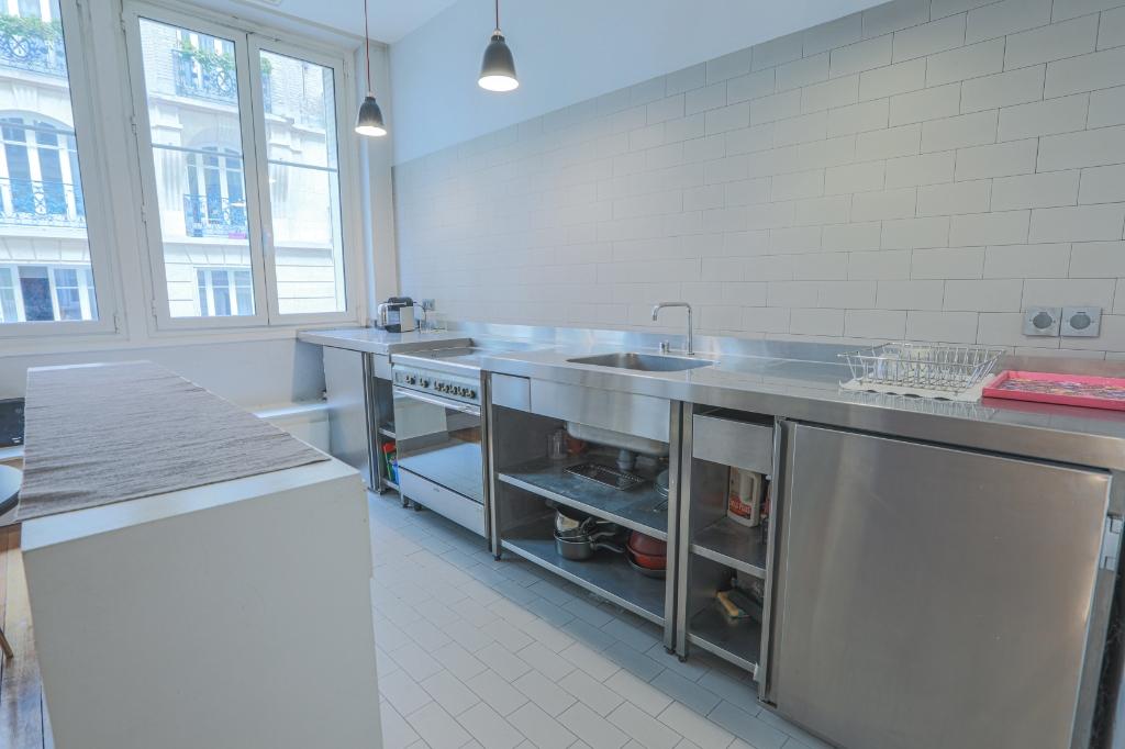 Appartement «esprit loft» quartier Lamarck Caulaincourt 4