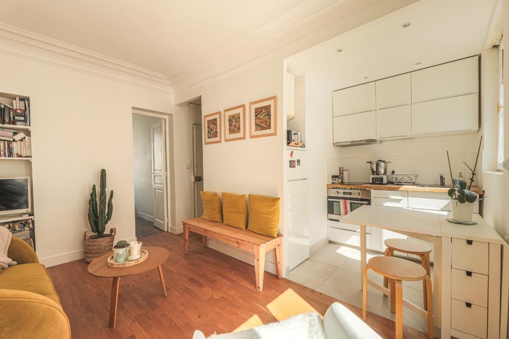 3 rooms 34.36 m² Fourche-Guy Moquet 1