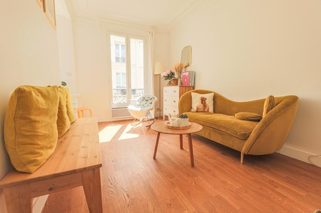2 rooms 34.36 m² – Guy-Moquet fork 1