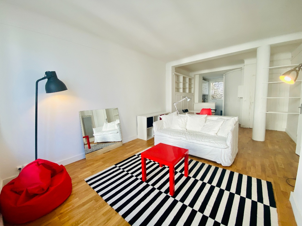 2p apartment furnished 46.12m² sacred heart 2