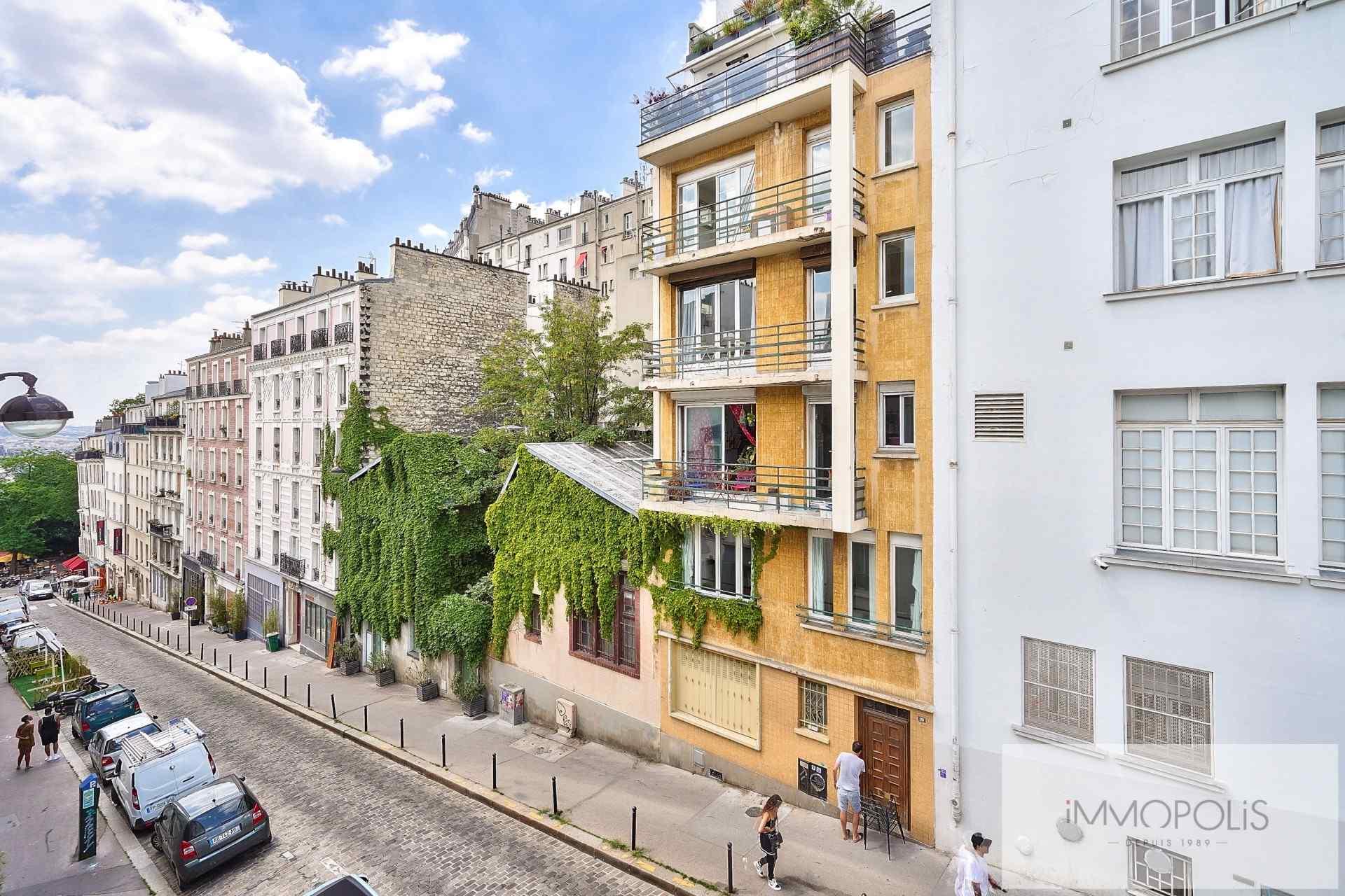 Montmartre-Street Paul Albert. 1