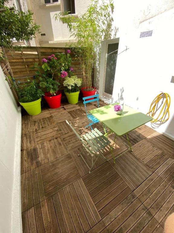 Appartement avec terrasse Paris 2 pièce(s) 32 m2 1