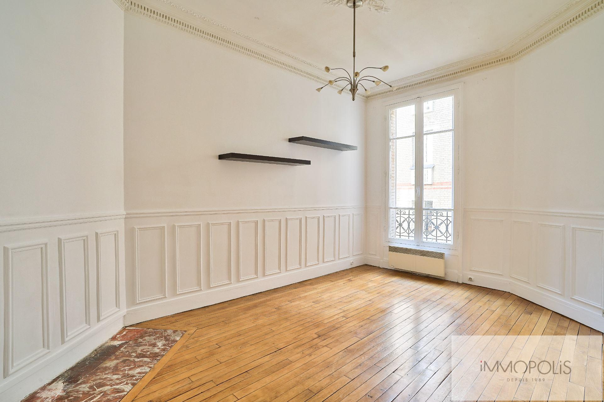 2 rooms 46 m2 – Rue Lamarck – Metro Guy Moquet 1