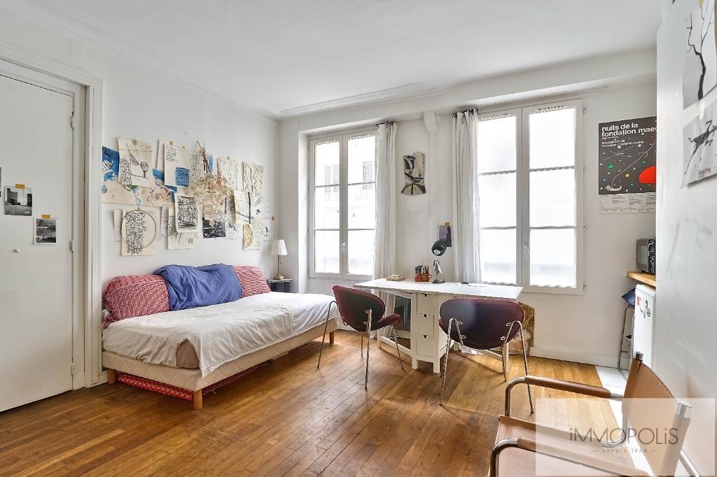 Studio Rue Duhesme – Paris XVIII. 1