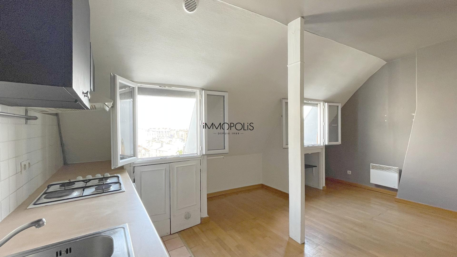 Beautiful 2 rooms at Abbesses with unobstructed view! 4