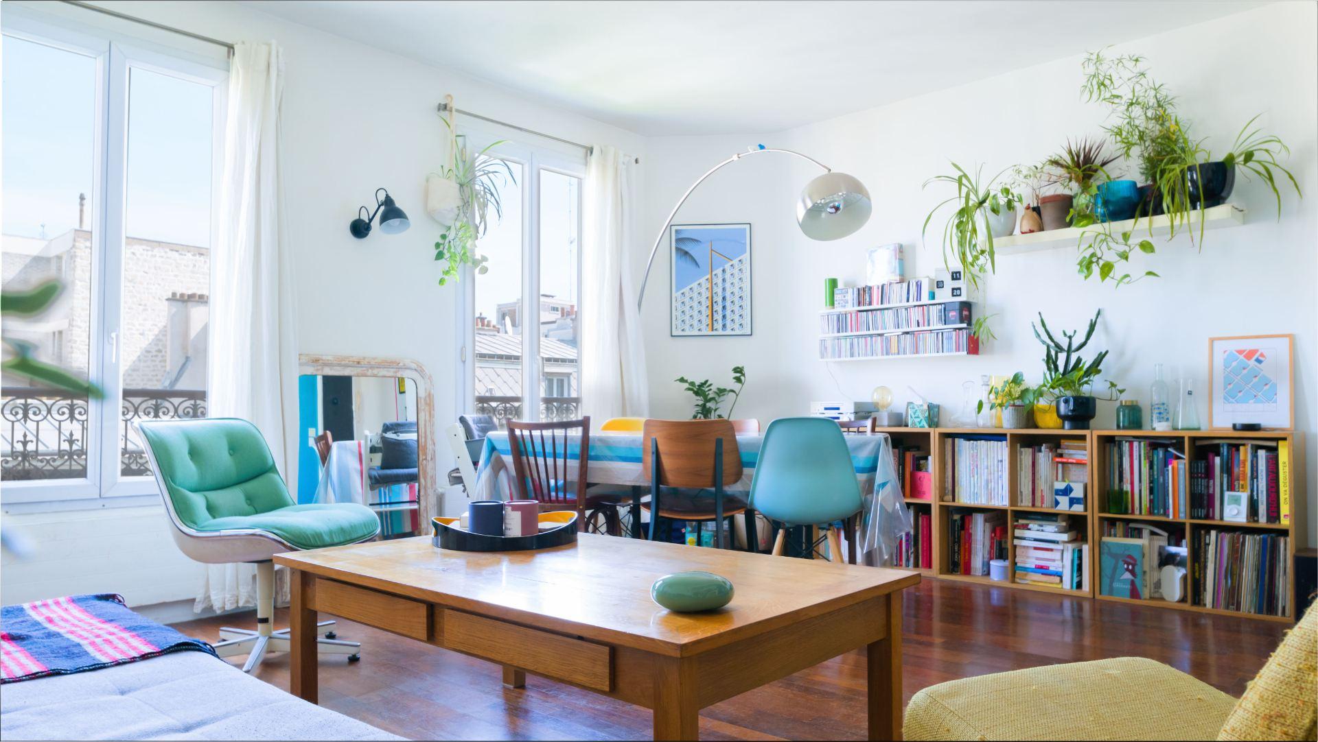 Rue Ordener – Appartement 4 pièces 3 chambres de 69 m² avec vue dégagée 1