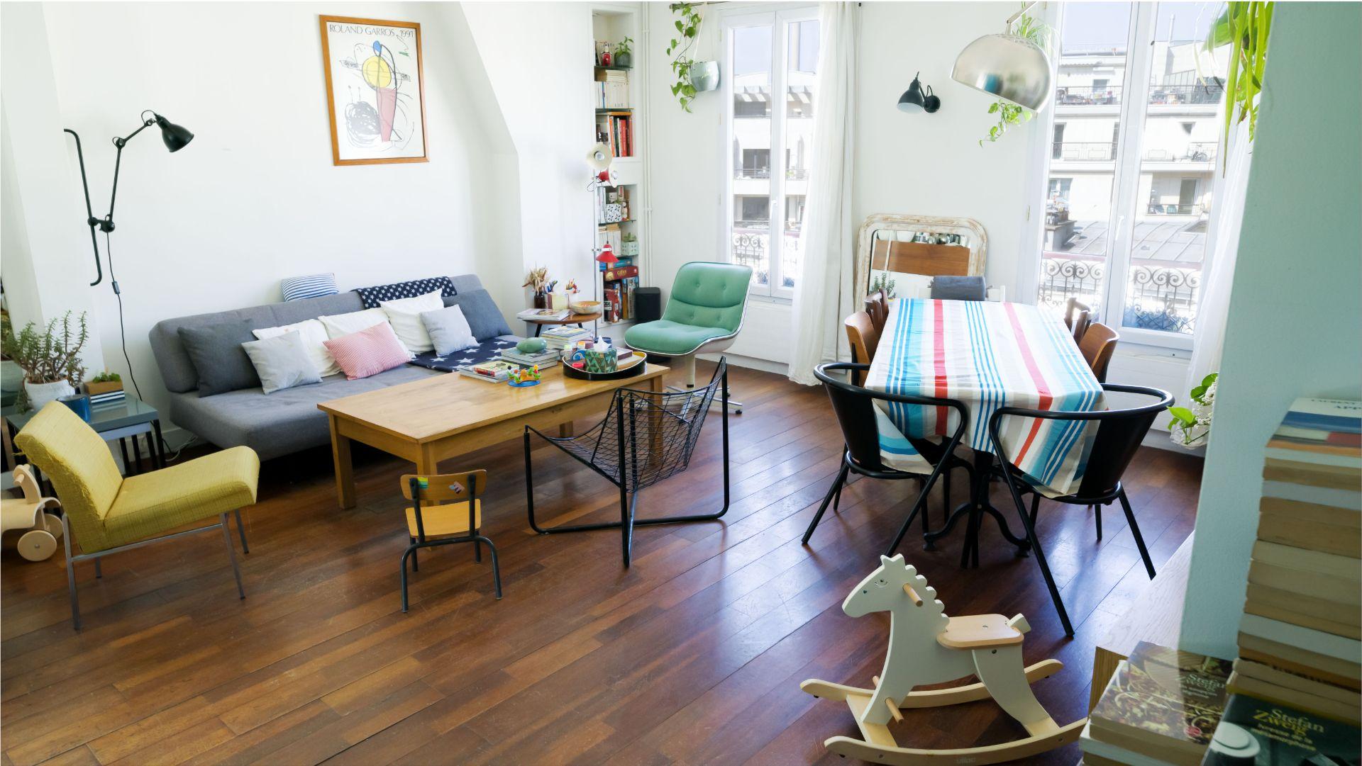 Rue Ordener – Appartement 4 pièces 3 chambres de 69 m² avec vue dégagée 2