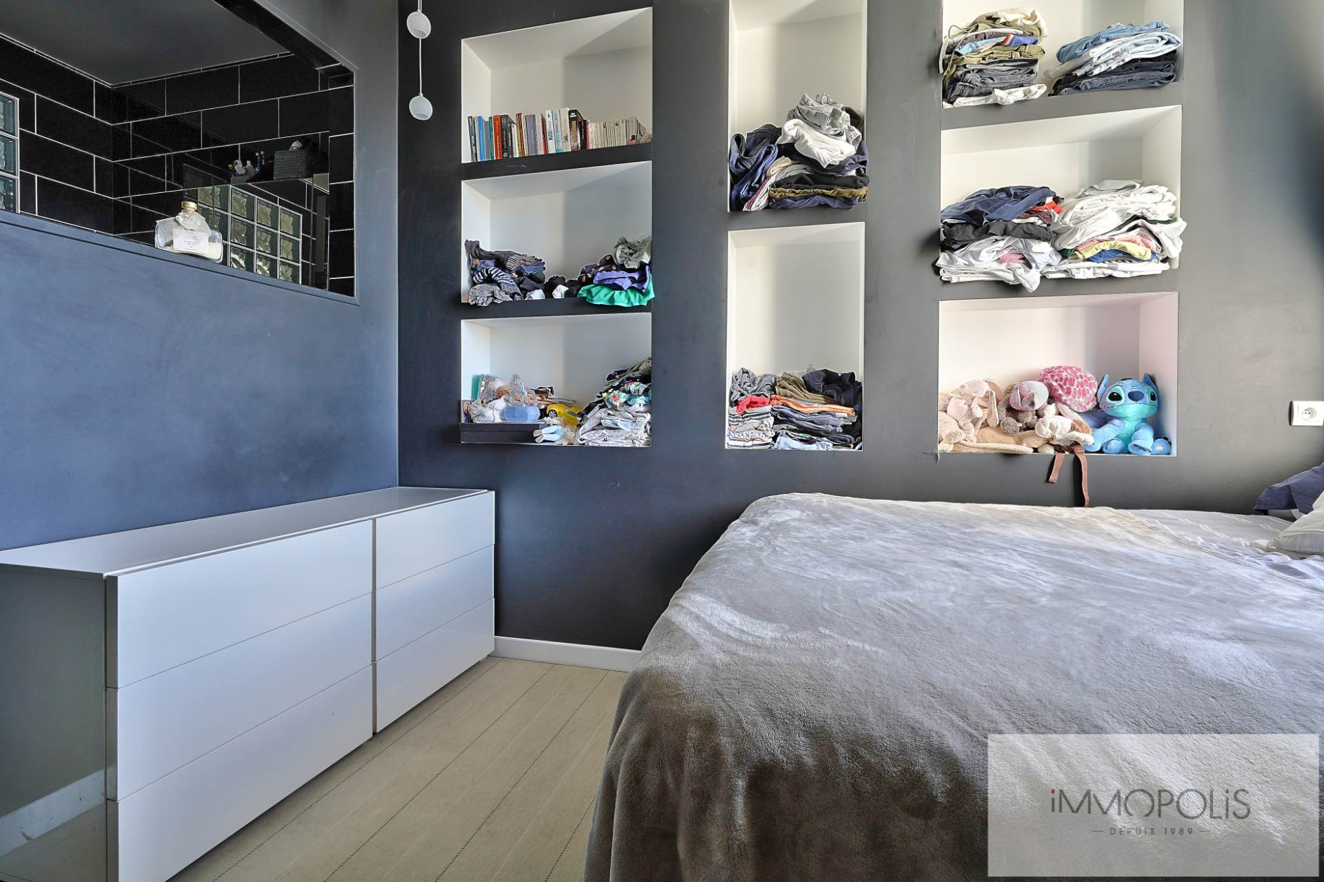 Exclusive rue des Abbesses A beautiful two rooms of 64 m2 6