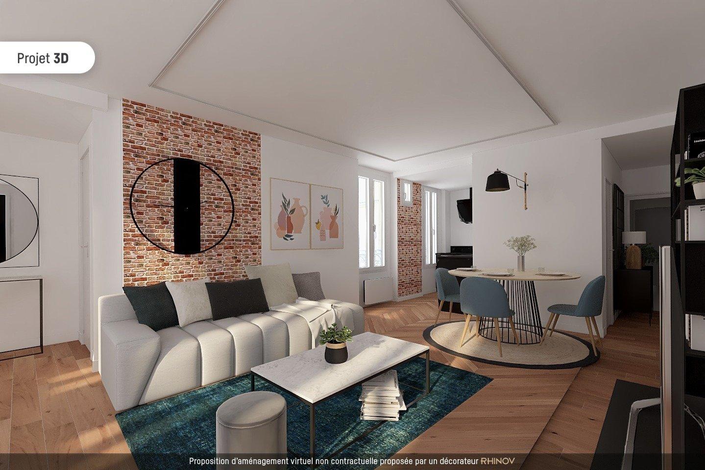 Appartement Familial de 4 pièce(s) 83 m2 1