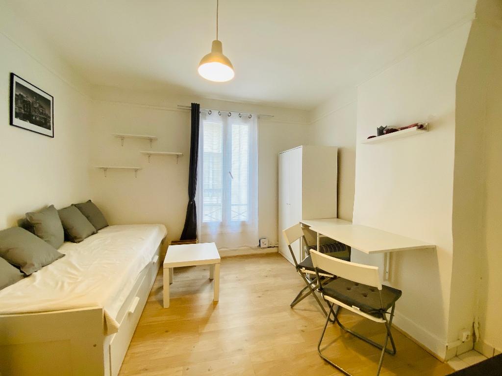 Apartment PARIS 18th – 1 room (s) – 16 m2 1